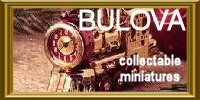 BULOVA MINIATURE CLOCKS